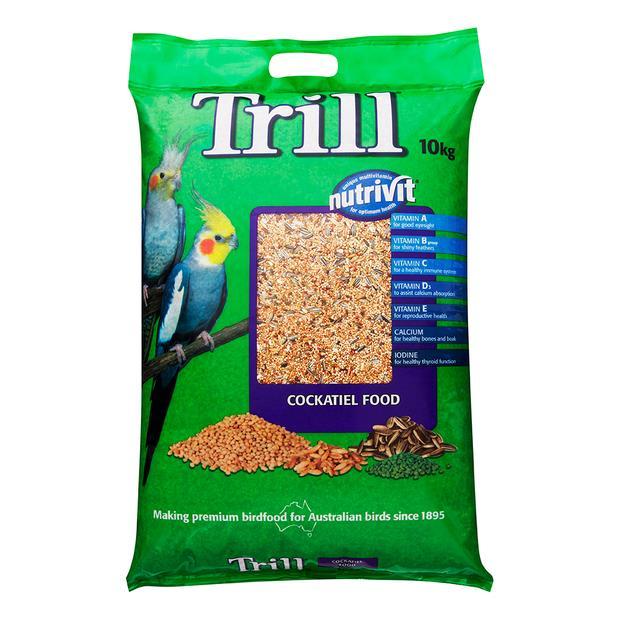 Trill Cockatiel Mix 10kg