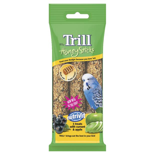 Trill Honeystick For Budgies Each