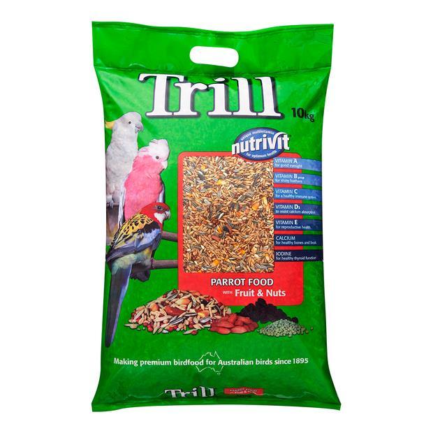Trill Parrot Mix 10kg