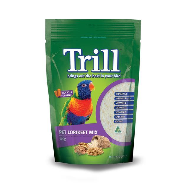 Trill Pet Lorikeet Mix 500g