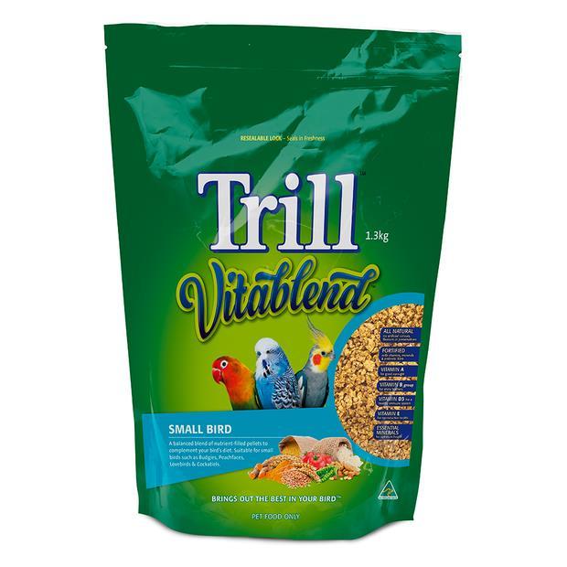 Trill Vitablend Small Bird Pellets 1.3kg