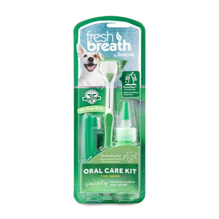 Tropiclean Fresh Breath Medium/Large Oral Care Kit