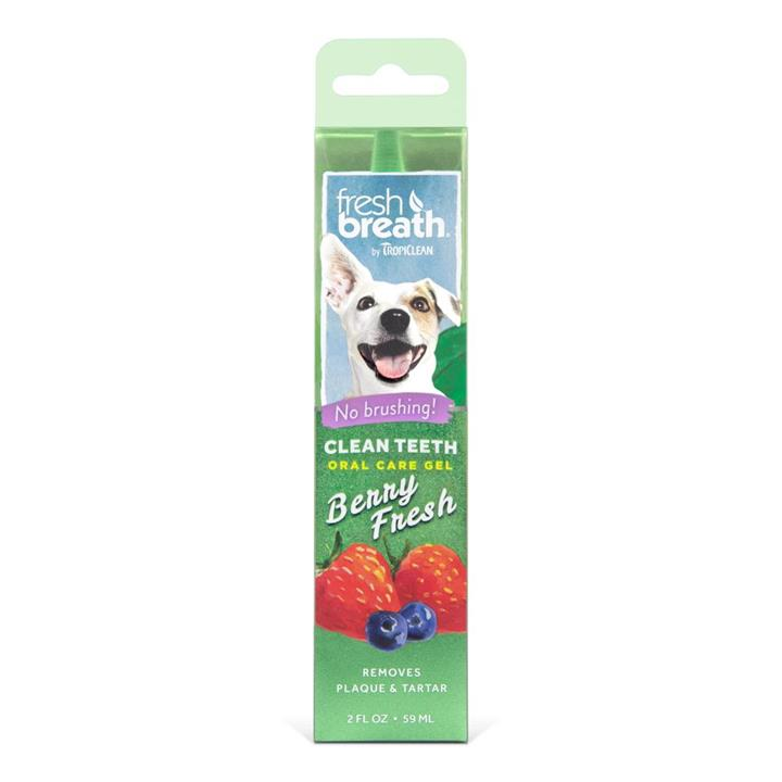 Tropiclean Fresh Breath Oral Care Gel Berry Fresh 59ml