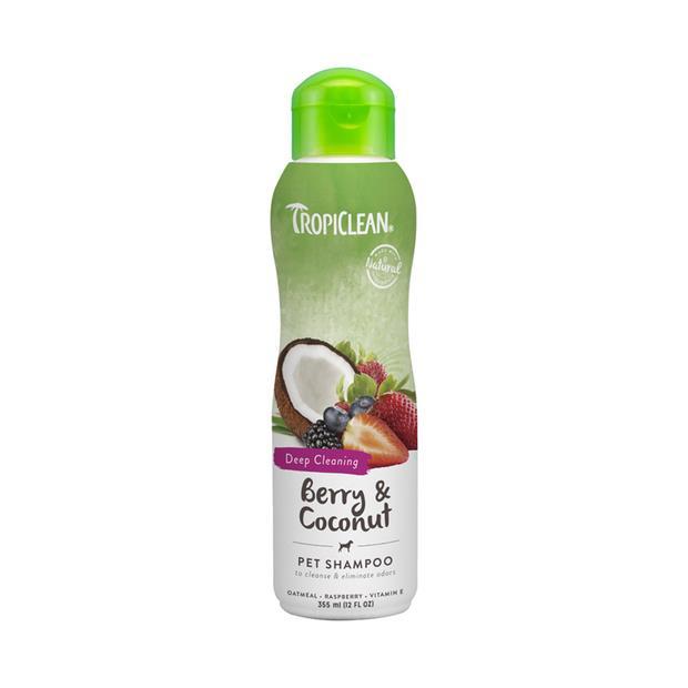 Tropiclean Shampoo Berry Coconut 355ml