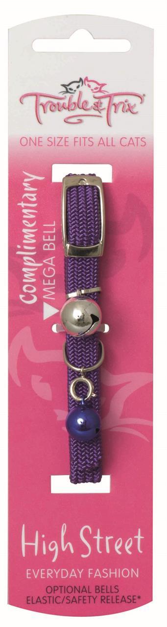 Trouble & Trix Collar High Street Stretch Purple