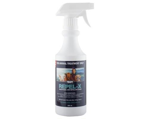 Troy Repel X Insects And Fly Spray 500ml