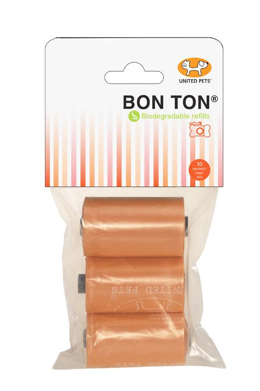 United Pet Bon Ton Refill Poo Bags Orange