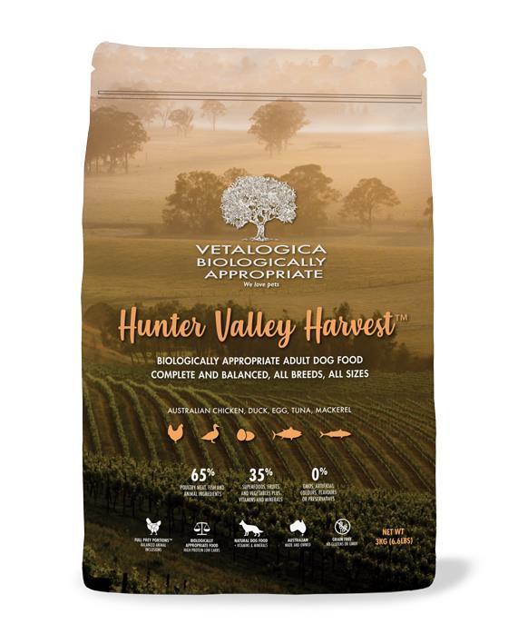 Vetalogica Biologically Appropriate Hunt Valley Harvest Dog Food