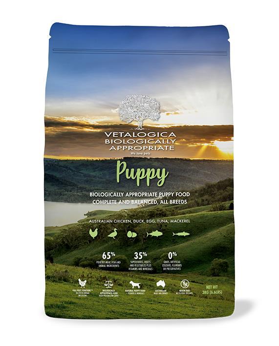 Vetalogica Biologically Appropriate Puppy Food