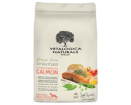 Vetalogica Naturals Grain Free Salmon Adult Dog Food 3kg
