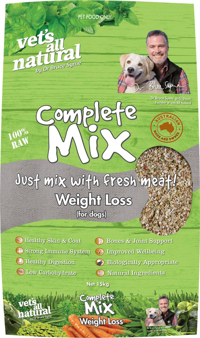 Vets All Natural 15kg Complete Mix Weight Loss
