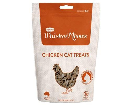 Whisker Meows Chicken Cat Treats 100g