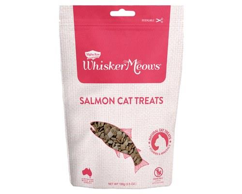 Whisker Meows Salmon Cat Treats 100g