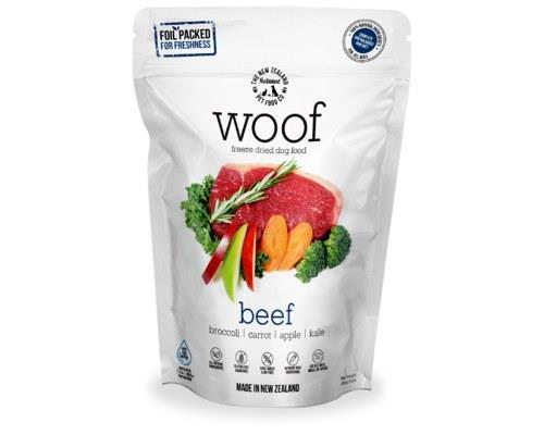 Woof Freeze Dried Dog Food Beef 280gm