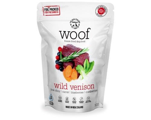 Woof Freeze Dried Dog Food Wild Venison 280gm