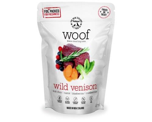 Woof Freeze Dried Dog Food Wild Venison 50gm