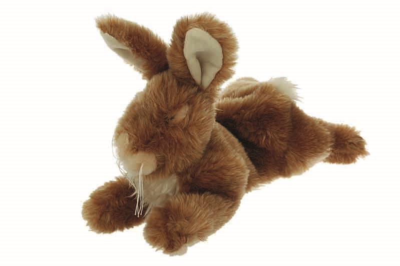 Yours Droolly Cuddlies Rabbit Dog Toy Small