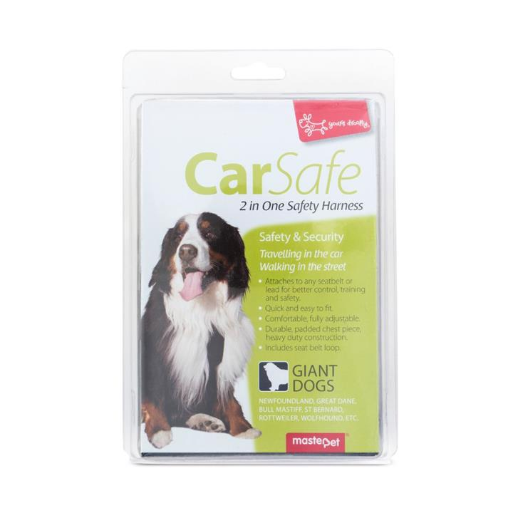 Yours Droolly Dog Car Harness Extra Extra Large