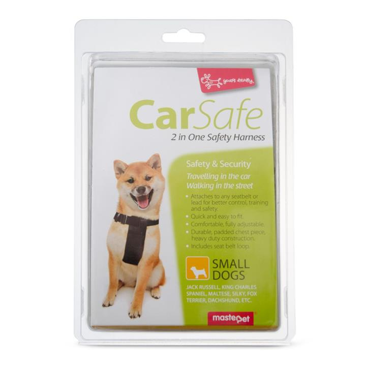 Yours Droolly Dog Car Harness Small