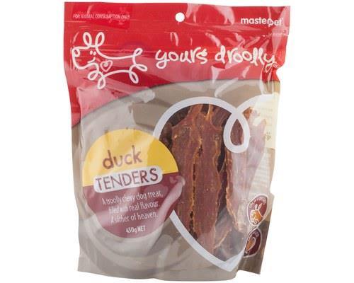 Yours Droolly Duck Tenders Dog Treats 450g