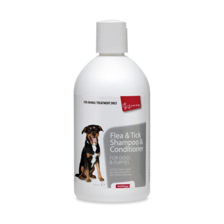 Yours Droolly Flea & Tick Dog Shampoo & Conditioner