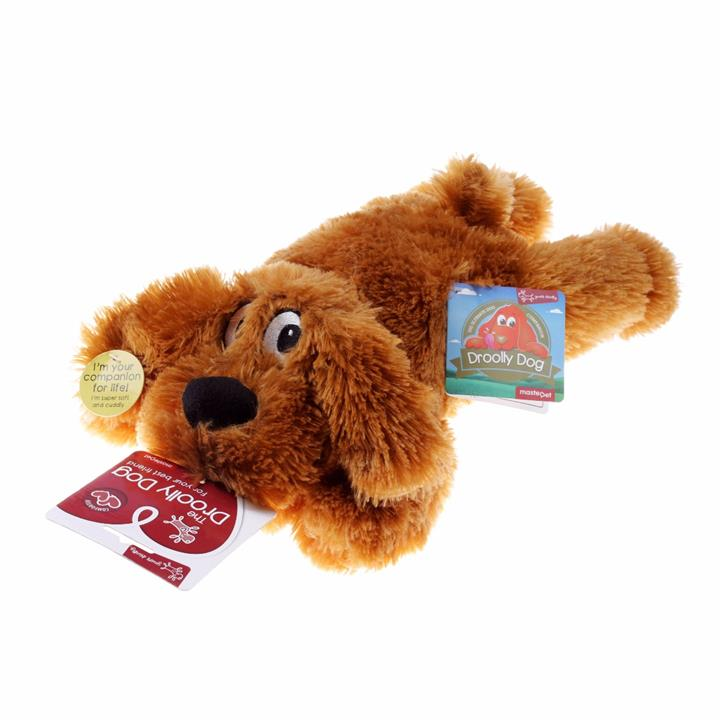 Yours Droolly Muff Pup Dog Toy
