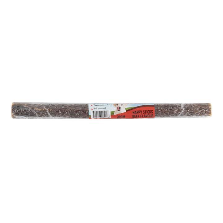 Yummi Happy Stick Beef Dog Treat 30cm