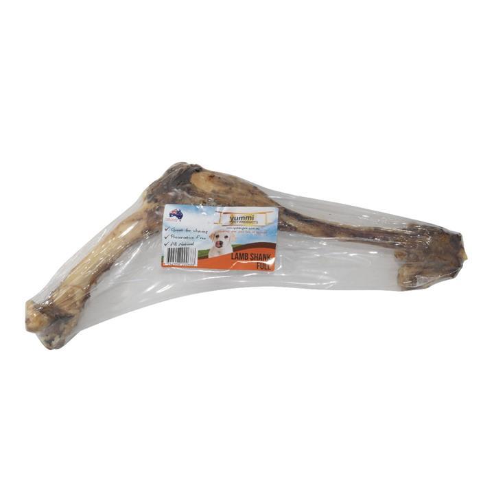 Yummi Lamb Shank Full Dog Treat 43cm