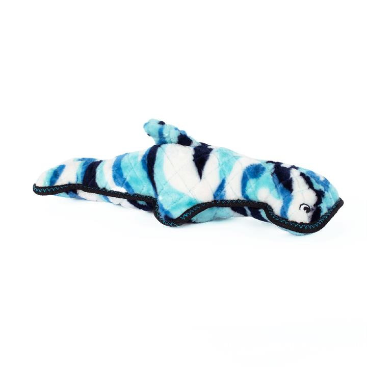 Zippy Paws Grunterz Plush Z-Stitch Dog Toy - Hamilton Hammerhead