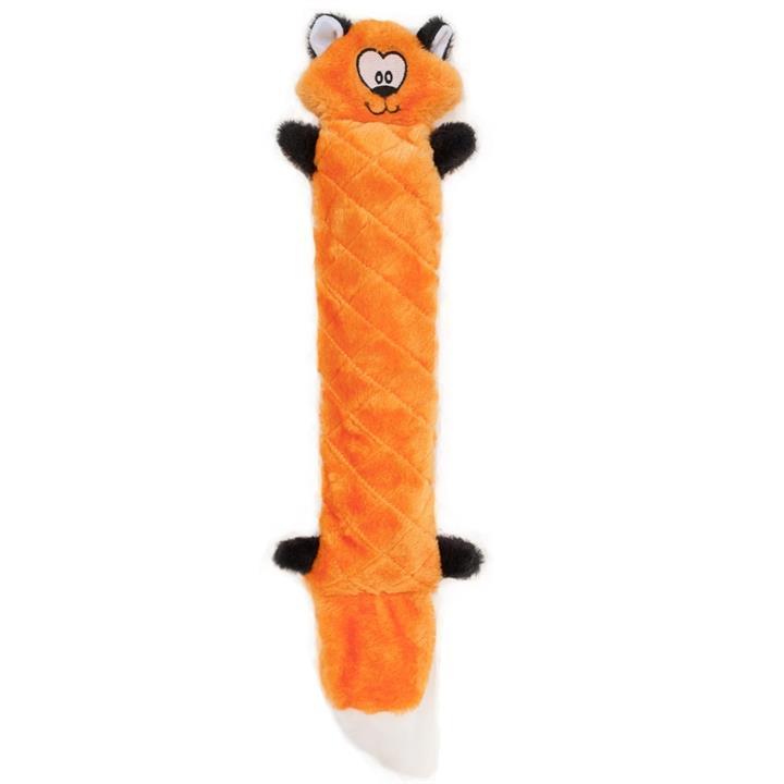 Zippy Paws Jigglerz Shakeable Dog Toy - Fox