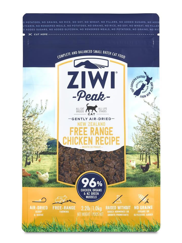 ZiwiPeak Air Dried Cat Food Chicken 1kg