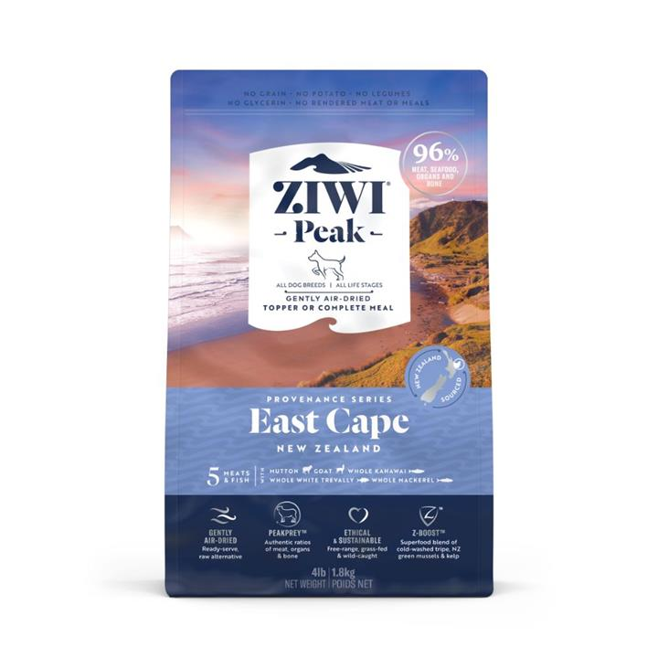ZiwiPeak Air Dried Provenance East Cape Dog Food