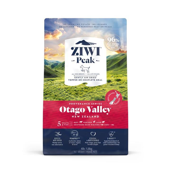 ZiwiPeak Air Dried Provenance Otago Valley Dog Food 1.8kg