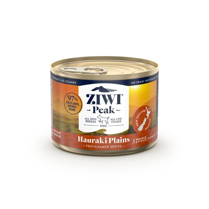 ZiwiPeak Canned Provenance Hauraki Plains Dog Food 12x170g
