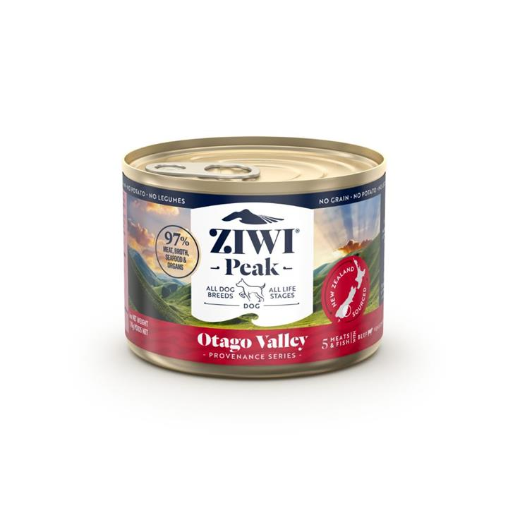 ZiwiPeak Canned Provenance Otago Valley Dog Food 12x170g