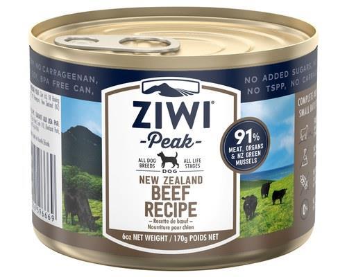 Ziwipeak Beef Dog Food 170g