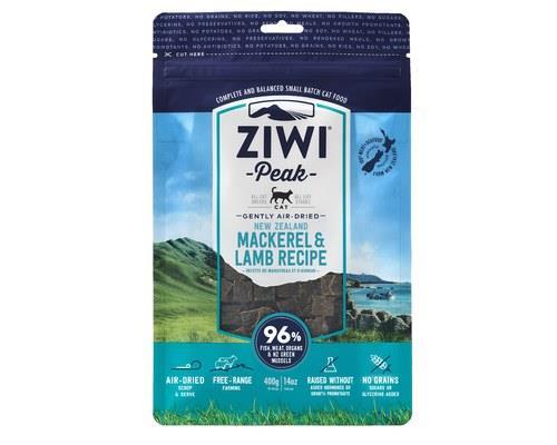 Ziwipeak Cat Air Dried Food Mackerel & Lamb 400g