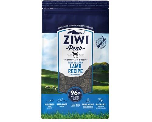 Ziwipeak Dog Air Dried Food Lamb 4kg