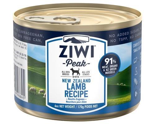 Ziwipeak Lamb Dog Food 170g