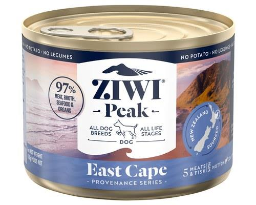 Ziwipeak Provenance East Cape Dog 170g