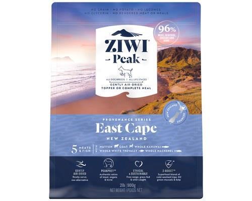 Ziwipeak Provenance East Cape Dog Food 900g
