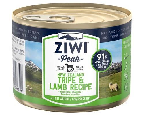 Ziwipeak Tripe & Lamb Dog Food 170g