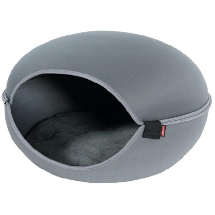 Zolux Louna Cat Dome Grey Cat Bed