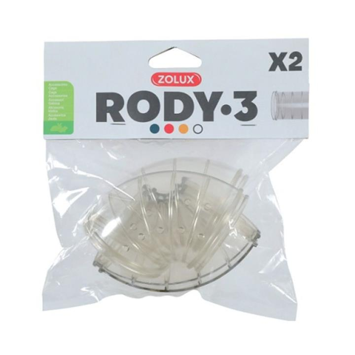 Zolux Rody 3 Accessories Curved Tube 2 Pack