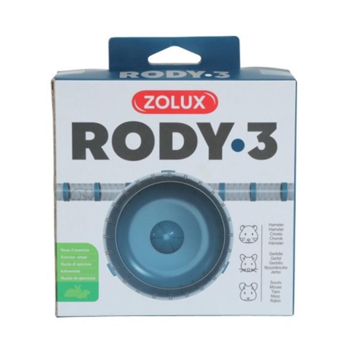 Zolux Rody 3 Accessories Silent Wheel Blue