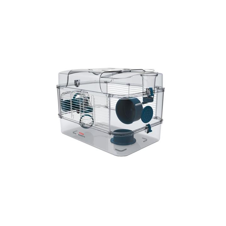Zolux Rody 3 Small Animal Cage Solo Blue
