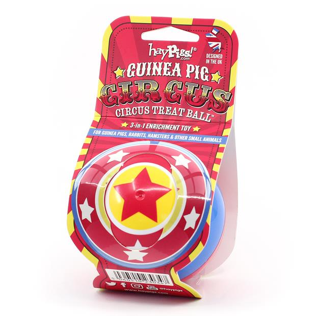 Haypigs Circus 3 In 1 Treat Ball Each