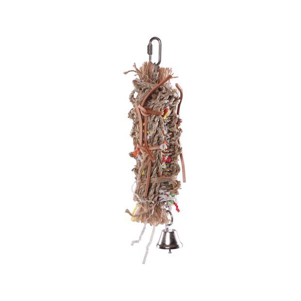 Kazoo Bird Toy Hanging Foraging Crinkle Vine Small