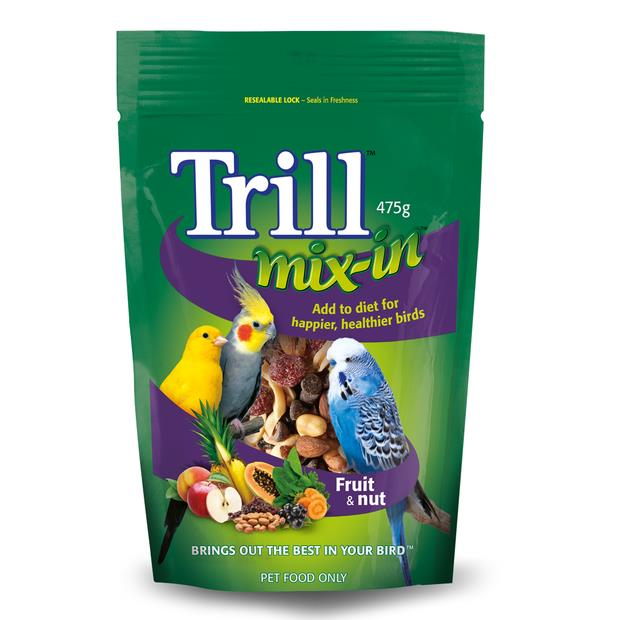 Trill Mix In Fruit And Nut Blend 475g