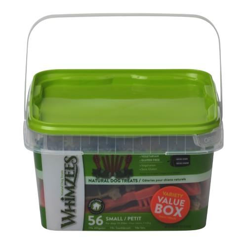 Whimzees Variety Value Box Small Breed Dental Treats 840g